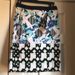 Peter pilotto for target colorful skirt